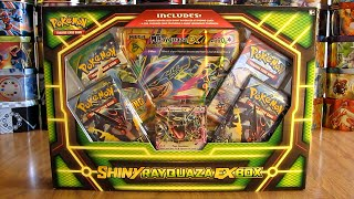 Pokemon Shiny Rayquaza EX Box Opening