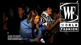 getlinkyoutube.com-Front Row Acne Studios Spring-Summer 2015 Paris Fashion Week