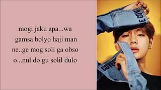 BTS V - 'SINGULARITY' (Easy Lyrics)