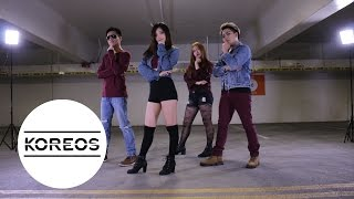 getlinkyoutube.com-[Koreos] K.A.R.D - Oh Na Na Dance Cover 카드 - 오나나 댄스커버