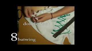 getlinkyoutube.com-8 cara memodifikasi lengan kaos cewe