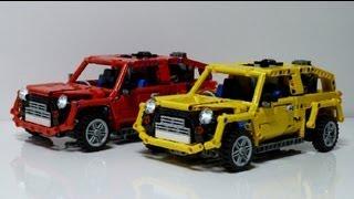 getlinkyoutube.com-LEGO Technic Mini Car