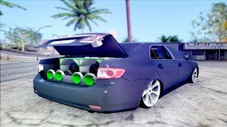 getlinkyoutube.com-GTA SA / Toyota Corolla Fixa ♠ MC TH ♠ Som Automotivo