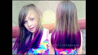 getlinkyoutube.com-Purple Ombre/Tips ♡ DIY Tutorial