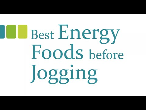 Best Energy Foods before Jogging - Health and Fitness Tips - Benefits of Wellness