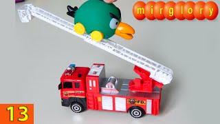 getlinkyoutube.com-Машинки мультфильм - Город машинок - 13 серия: Пожарная машина. Развивающие мультики