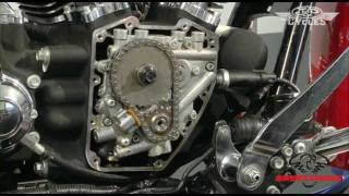 getlinkyoutube.com-Cam Replacement on a Harley Davidson Twin Cam, including Pushrod Removal •  J&P Cycles