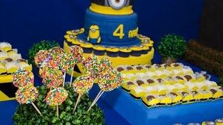Ideias Decoração e Lembrancinhas Festa Aniversário Minions Malvado favorito