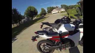 getlinkyoutube.com-2013  Honda CBR500R vs Yamaha FZ6R