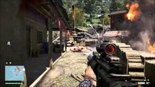 getlinkyoutube.com-Farcry 4 P416 VS The Bushman (M4 Style Rifle)