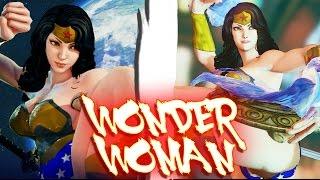 getlinkyoutube.com-Street Fighter V PC mods - Wonder Woman by BrutalAce
