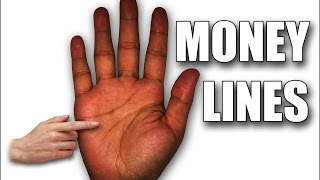 getlinkyoutube.com-MONEY LINES: Female Palm Reading Palmistry #109