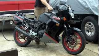 1992 Ninja 250r First Start Since 2004
