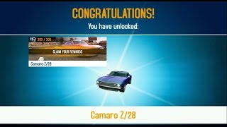 getlinkyoutube.com-Asphalt 8 - Lotus Evora unlocked the Camaro Z28