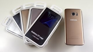getlinkyoutube.com-Huse Originale Samsung Galaxy S7 Edge - MobileDirect.ro