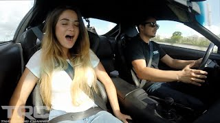 "getlinkyoutube.com-Maria ""Evo Girl"" Rides in 1200HP BEAST Supra!"