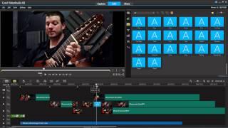 getlinkyoutube.com-Making guitar videos in Corel video studio x8