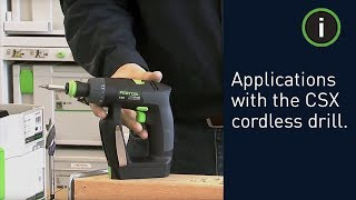 Festool Drill Sets