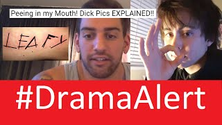 getlinkyoutube.com-Leafy Fan CUTS! #DramaAlert Toby Turner HACKED! Joey Salads Peeing in Mouth EXPLAINED!