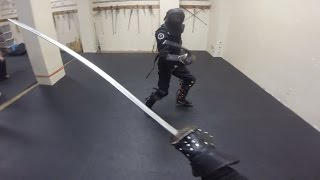 getlinkyoutube.com-Expert saber sparring: Lee Smith vs Richard Marsden