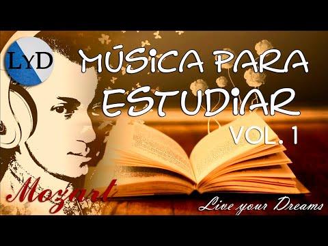 ★3 HORAS DE MOZART PARA ESTUDIAR VOL.1★ Música Clásica Piano - Música para Estudiar y Concentrarse