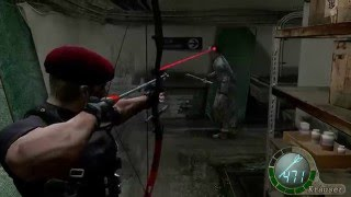 getlinkyoutube.com-Resident Evil 4 (PC) (2007) - Assignment Ada : Krauser Gameplay