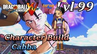 getlinkyoutube.com-Dragon ball Xenoverse Character Build: Cabba