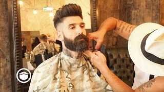 Getting a Beard Trim at the Barbershop | Carlos Costa