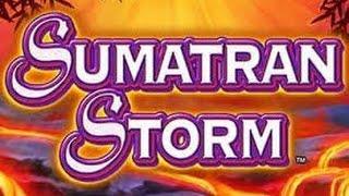 getlinkyoutube.com-Sumatran Storm Slot Machine Bonus * Big Win!!!