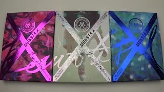 Unboxing Monsta X 몬스타엑스 1st Studio Album Beautiful (All Versions!)