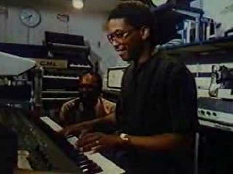 Herbie Hancock jams with his Fairlight CMI