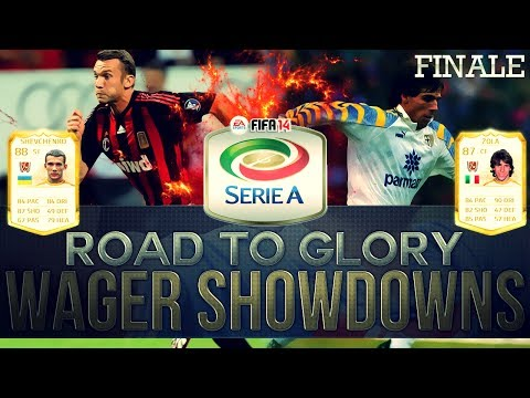 INSANE LEGEND CARD WAGERS! | FIFA 14 Xbox One WAGER SHOWDOWNS FINALE! #28