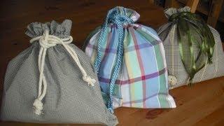 getlinkyoutube.com-How to make a Drawstring bag...Summer holidays Kids Crafts