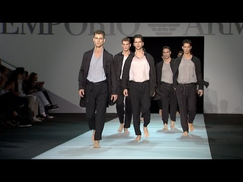 Emporio Armani Men's Collection Spring/Summer 2012