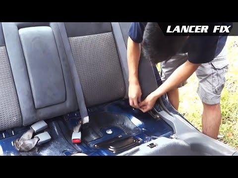 Lancer Fix 20 | SRS?, Change Rear Seat Belts