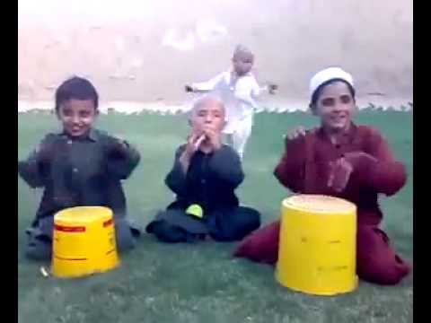 Very funny pathan child Dhool and saaz Rabab funny 2014