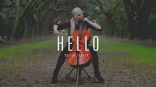 "getlinkyoutube.com-Caitlin Delaney -""Hello"" by Adele Cello Cover"