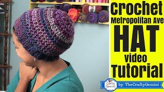 getlinkyoutube.com-How to Crochet Slouchy Boho Hat- Metropolitan Ave. Hat