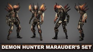 getlinkyoutube.com-Diablo 3 RoS: The Marauder's Legendary Set (Demon Hunter) - Why It's So Good & How to Get It!