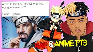 XXXTENTACION - Famous Rappers You Didn't Know Inspired By ANIME (pt3)