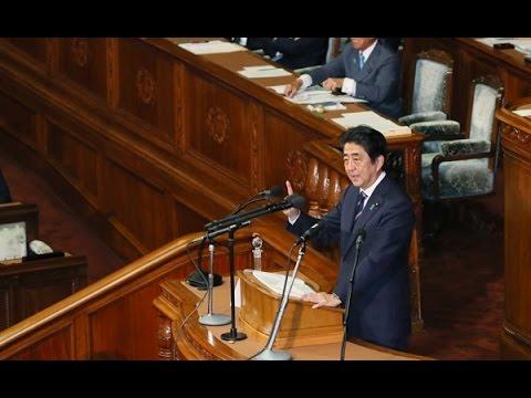 安倍内閣総理大臣所信表明...