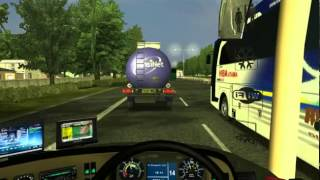 getlinkyoutube.com-UKTS Bus Indonesia Rosalia Indah TEST DRIVE