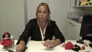 getlinkyoutube.com-Boneca Russa  com moldes - Artesã Hermela Cris - Cenário Feminino em 28/06/2014