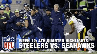 getlinkyoutube.com-Relive the Steelers vs. Seahawks Crazy Back-And-Forth 4th Quarter | NFL Highlights