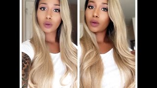 getlinkyoutube.com-Affordable Lace Front Wig | BHairExtension.com