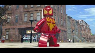 getlinkyoutube.com-LEGO Marvel Superheroes - Iron-Spider (MOD)