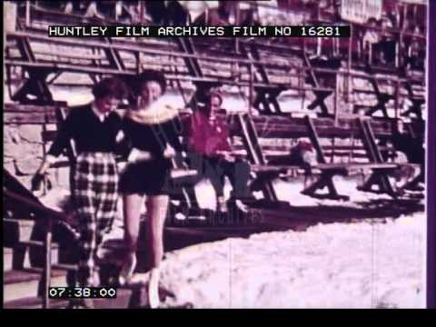 Holiday in St Mortiz, 1950's - Film16281