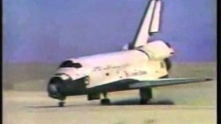 getlinkyoutube.com-Lądowanie wahadłowca w White Sands