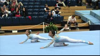 getlinkyoutube.com-Bulgaria   Age Group WP   GB Acro Tournament SILVER