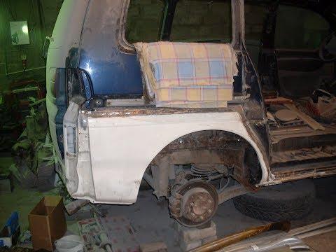 Mitsubishi Space Gear (Мицубиси Спэйс гир) - Капитальный ремонт всего автомобиля